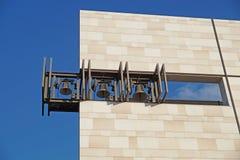 Cloches d'église modernes Images libres de droits