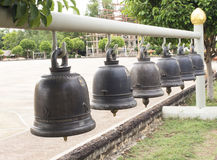 Cloches d'église thaïlandaises Image libre de droits