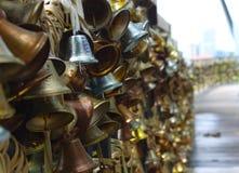 Cloches d'amour à Singapour photographie stock