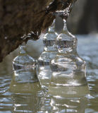 Cloches de glace Image stock
