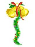 Cloches de Noël Photo stock