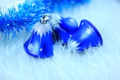 Cloches de Noël Images stock