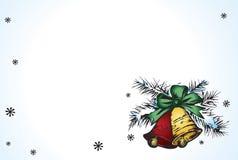 Cloches de Noël Photos libres de droits