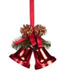 Cloches de Noël photos stock