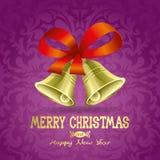 Cloches de Noël. Images stock