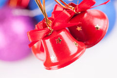 Cloches de Noël images libres de droits