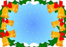 Cloches de Noël Photographie stock