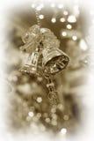 Cloches de tintement de Noël Images stock