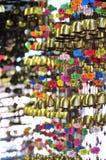 Cloches de vent Photo stock