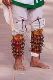 Cloches indiennes de jambe (ghungroos) photo libre de droits