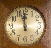 Clock. A clock with clock face Stock Photos