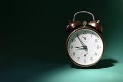 Clock. Retro Alarm Clock Stock Image