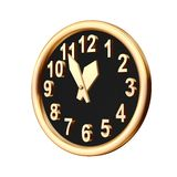 Clock. Showing five minutes to an hour Royalty Free Stock Photo