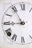 Clock. Close up of an old style clock Royalty Free Stock Photo