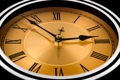 The clock Royalty Free Stock Image