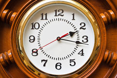 The clock Royalty Free Stock Photos