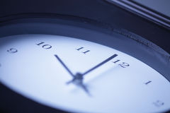 Clock. The Clock Strikes 1000 hours Royalty Free Stock Images