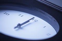 Clock. The Clock Strikes 1200 hours Royalty Free Stock Photos