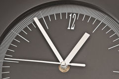 Clock. Showing almost 1 a Royalty Free Stock Photos