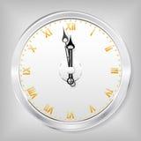 The clock. Stock Photos