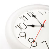 Clock. Wall clock showing the tenth hour Royalty Free Stock Photography