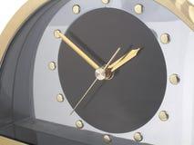 Clock. Face closeup stock image