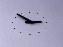 Clock. On the wall Stock Image