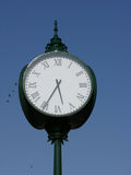 Clock. Town clock Stock Images