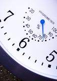 Clock. Alarm clock is an instrument that shows you what time it is Stock Images