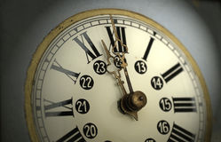 Clock. Colock on the wall Royalty Free Stock Image