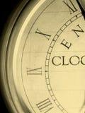 Clock. Roman ancient clock with numbers stock photos