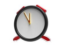 Clock 3d render Royalty Free Stock Photography