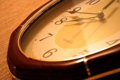 Clock. Close up royalty free stock photos