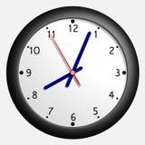 Clock. Simple virtual clock Stock Photography