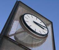 Clock. Large metal clock royalty free stock photos