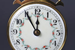 Clock. Almost time for the witching hour Royalty Free Stock Photo