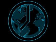 Clock. Around the clock royalty free illustration