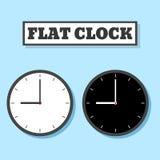 Clock-04 ilustracja wektor