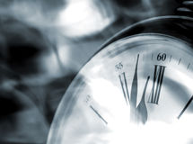 Clock abstract Royalty Free Stock Image