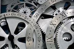 Clock And Gears Stock Photography