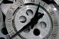 Clock And Gears Stock Images