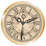 Clock 117 14 08 13. Antique clock. Vector illustration/. This is file of EPS10 format Stock Photography