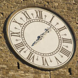 Clock of Arnolfo tower Royalty Free Stock Photo