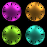 Clock without arrows 3D illustration Stock Photography