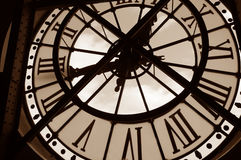 Free Clock At The Orsay Museum Royalty Free Stock Photo - 487135