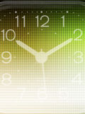 Clock background Stock Photo
