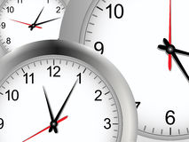 Clock background Stock Photography