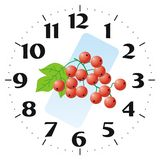 Clock Background. If you print a right size, you can replace your clock's background Royalty Free Stock Image