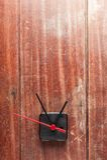 Clock background Stock Photo