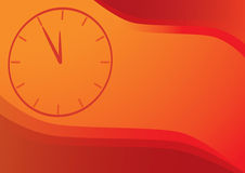 Clock backround. Vector background with clocks and copy space royalty free illustration